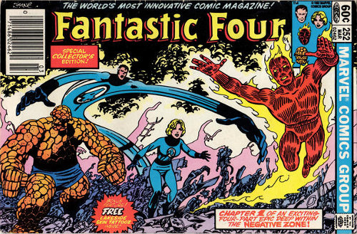 Fantastic Four # 252   March 1983