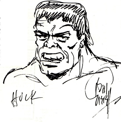 The Hulk by Bill Everett