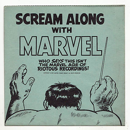 Scream Along with Marvel front