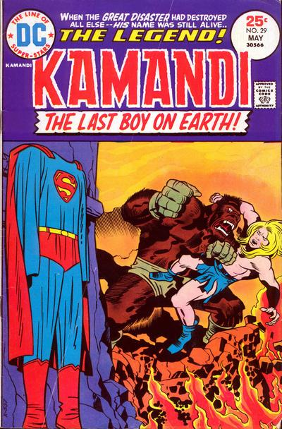 Kamandi # 29   May 1975
