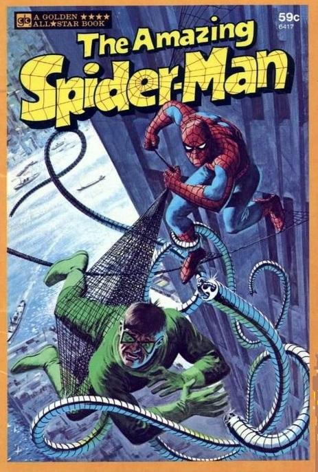 Spider-Man All Star Golden Book 1977