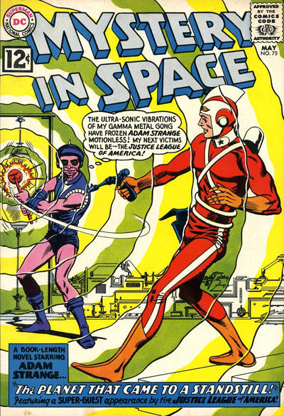 Mystery In Space # 75   May 1962