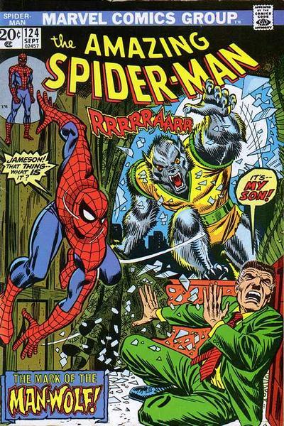 Spider-Man # 124 Sept 1973