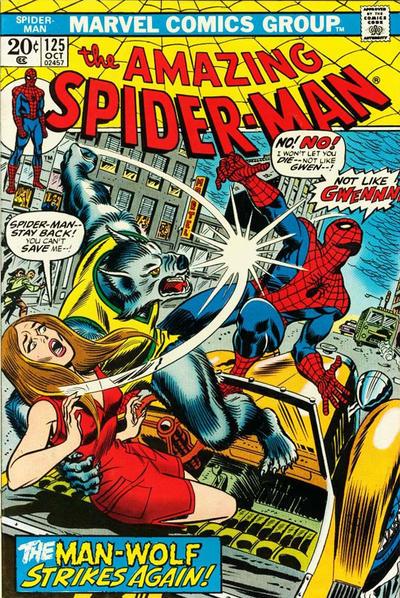 Spider-Man # 125 Oct 1973