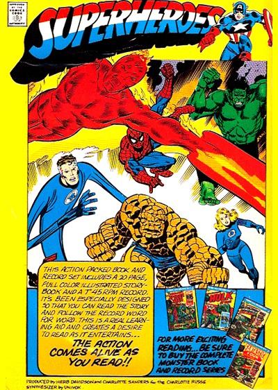 Spider-Man/Man-Wolf rear cover