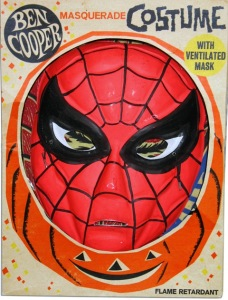 Ben Cooper Spider-Man Costume; the best a kid in the 60s or 70s could hope for.