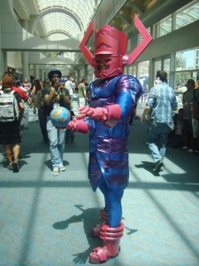 Forget about candy; Galactus eats worlds. Costumes have come along way.