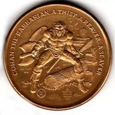 Conan medallion