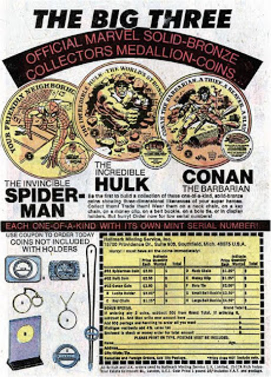 Third Marvel Medallion ad