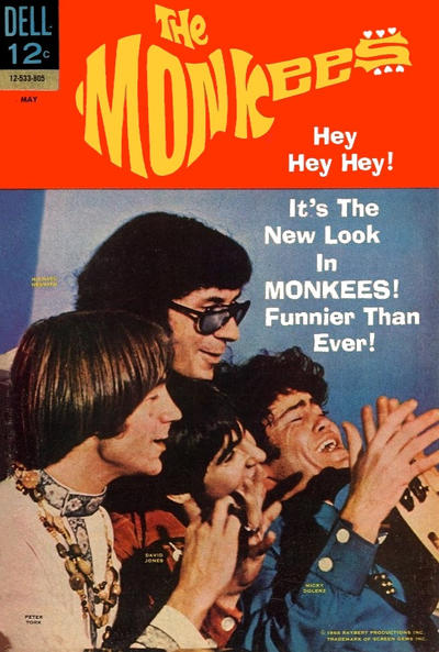 Dell Comics' The Monkees # 11   May 1968