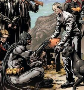 Alfred's a great cook. Another blessing for Batman.