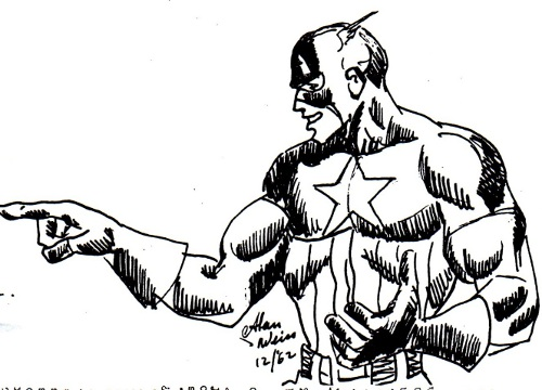 Captain America by Alan Weiss