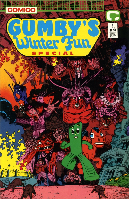 Gumby's Winter Fun Special front cover