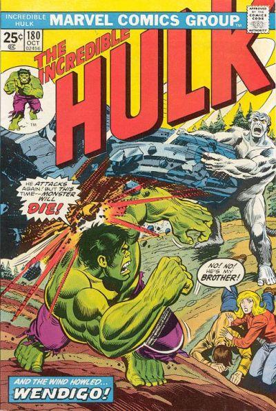 Hulk # 180 Oct 1974