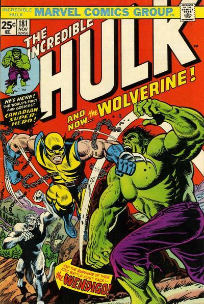 Hulk # 181 Nov 1974