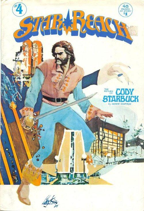 Star Reach # 4   1976