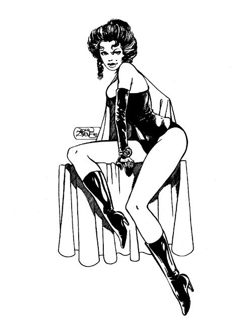 Black Queen by John Byrne
