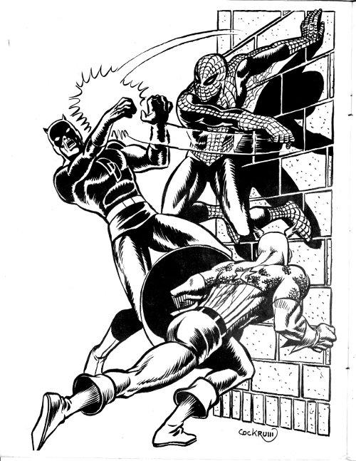Marvel Heroes by Dave Cockrum