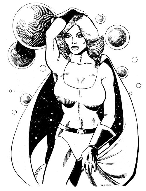 Power Girl by Bill Black