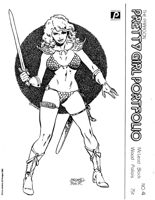 Red Sonja by Bob McLeod & Bill Black