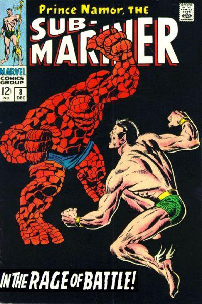 Sub-Mariner # 8   December 1968