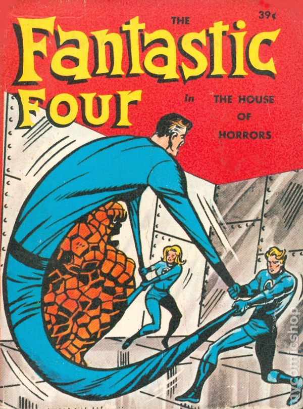 Fantastic Four Big Little Book from 1968
