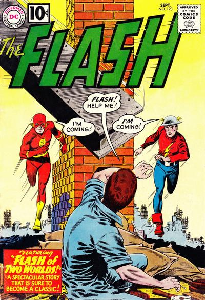 Flash # 123   September 1961