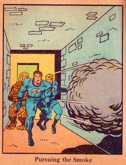 Jack Kirby art for the Fantastic Four BLB