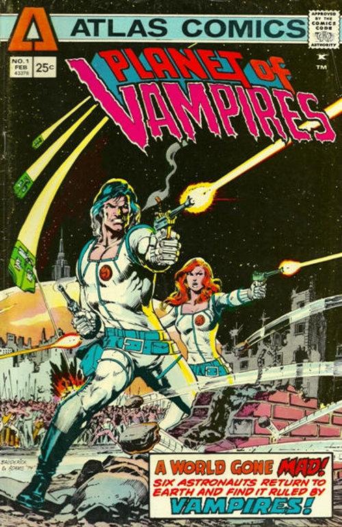 Planet of Vampires # 1   Feb 1975