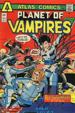 Planet of Vampires # 3   July 1975