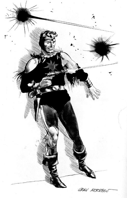 pg 12 Flash Gordon by Gray Morrow