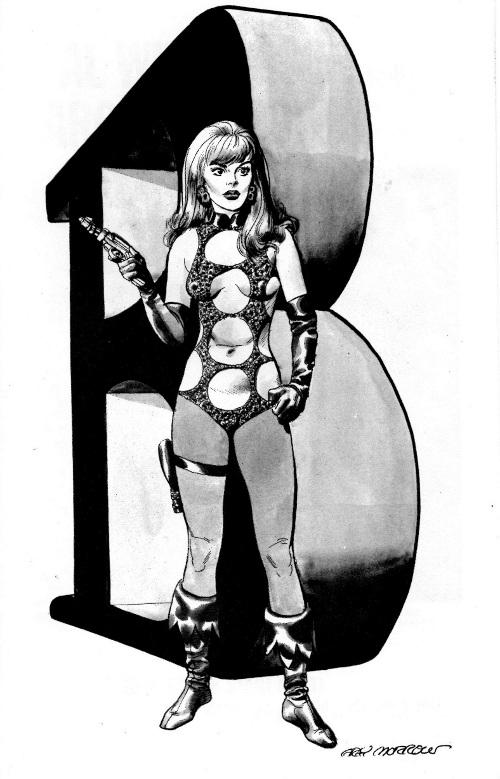 pg 13 Barbarella by Gray Morrow