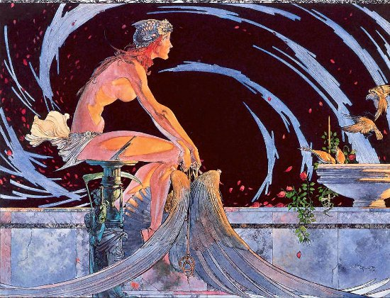 Icarus Had A Sister by Michael Kaluta 1976