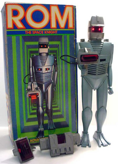 The Rom Toy with box front