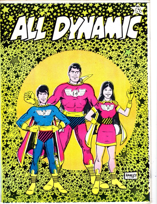 All Dynamic # 5-6 Back Cover by Alan Hanley