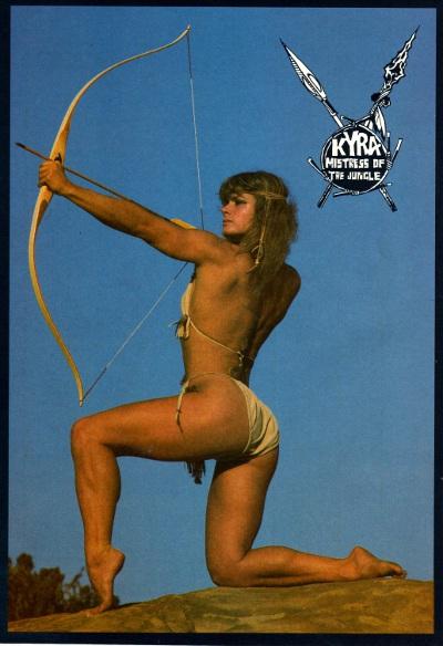 Kyra # 1 Back Cover