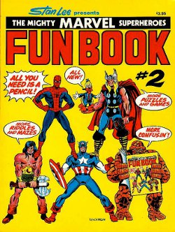Marvel Fun Book # 2   June 1977