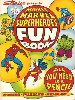 Marvel Fun Book # 4   1979