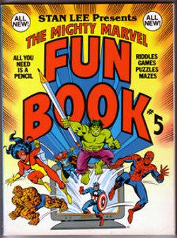 Marvel Fun Book # 5   1979