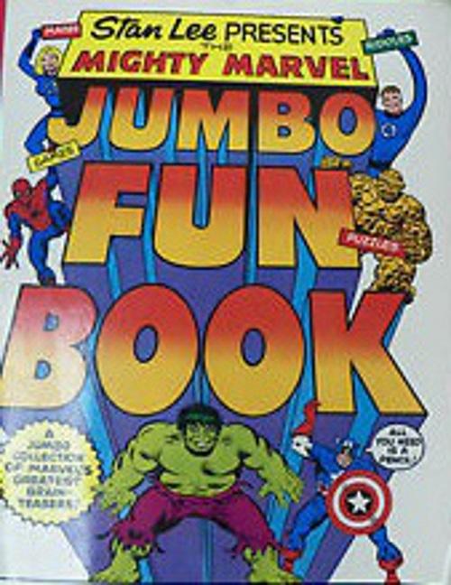 Marvel Jumbo Fun Book   1979