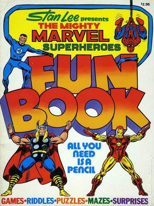 Mighty Marvel Superheroes Fun Book June 1976
