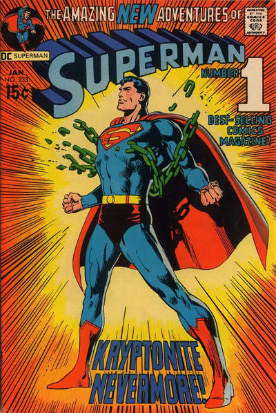 Superman # 233   Jan 1971