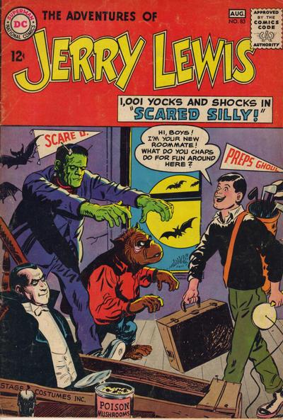 Adventures of Jerry Lewis # 83