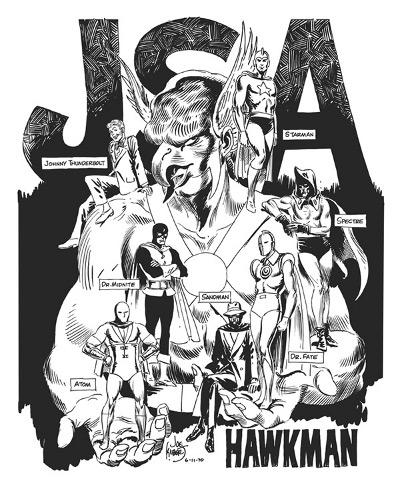 The JSA by Joe Kubert