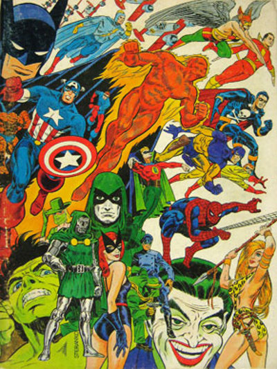 The Steranko History of Comics # 1 front cover