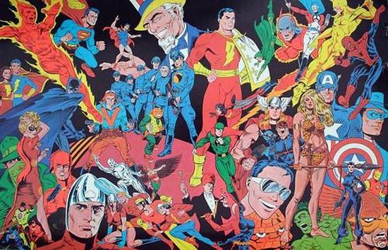 The Steranko History of Comics Volume 2 wrap-around cover