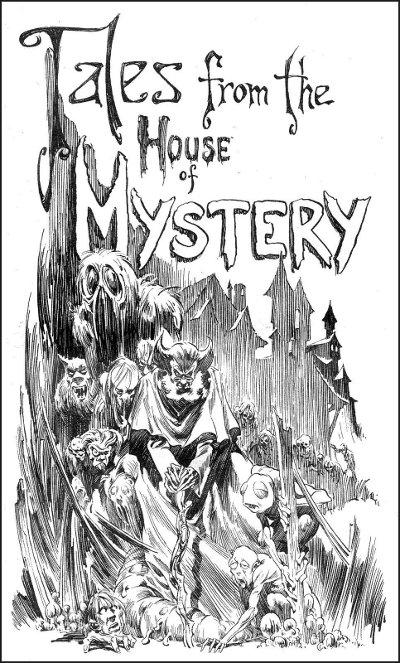 Berni Wrightson - House of Mystery # 1 interior art 01