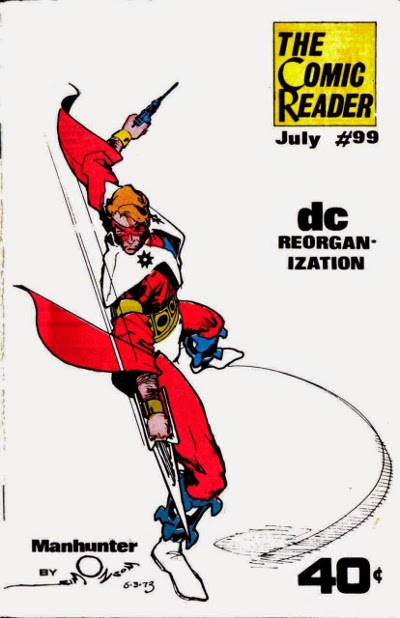 Comic Reader # 99 cover   July 1973