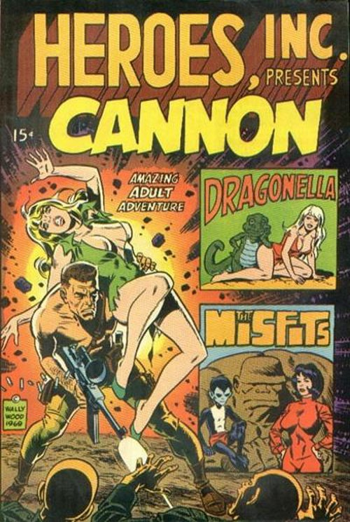 Heroes, Inc., Presents Cannon 1969
