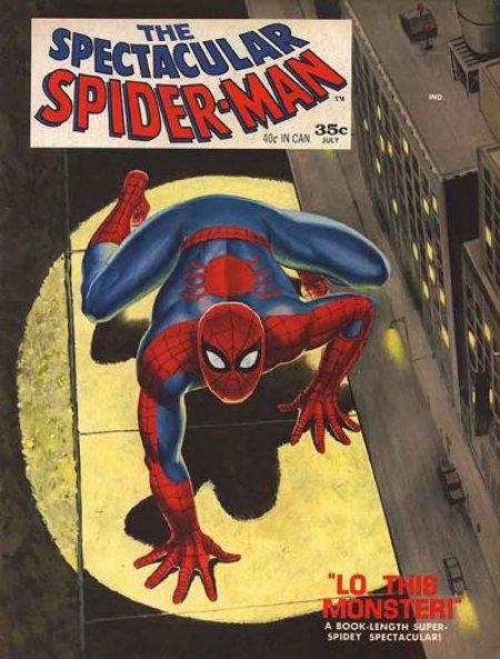 Spectacular Spider-Man # 1   July 1968